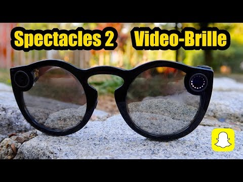 Spectacles 2 Snapchat Video-Brille