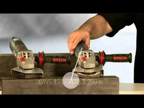 Nuevas Amoladoras Bosch GWS