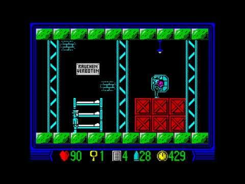 Wunderwaffe Walkthrough, ZX Spectrum