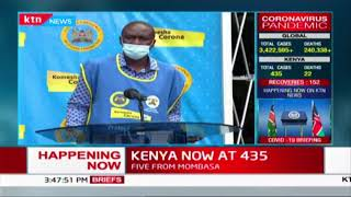 COVID-19 updates in Kenya by ministry of Health   FULL VIDEO