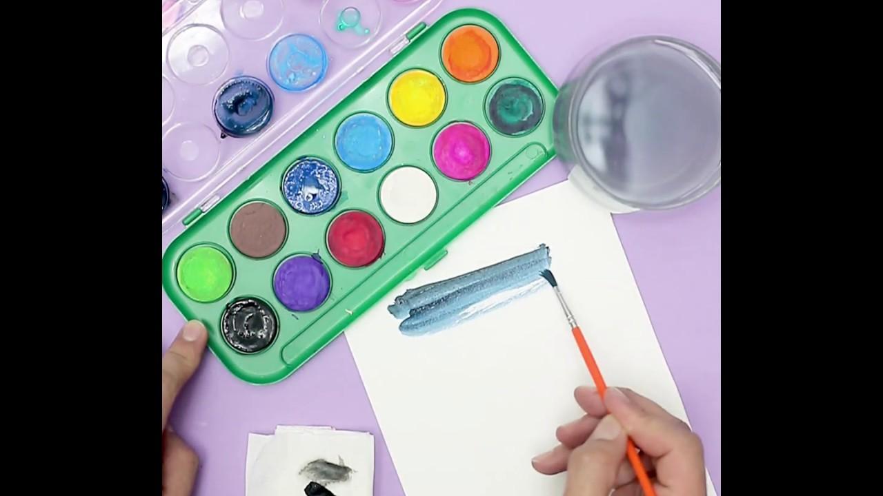 Desenhando com a Aquarela 12 cores