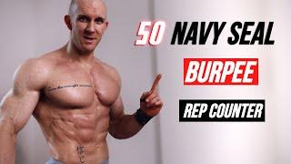 Navy Seal Burpees Follow Along 🔥 Best Bodyweight Chest Workout