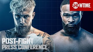 Paul vs. Woodley: Post-Fight Press Conference   SHOWTIME PPV