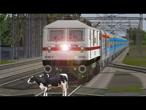 Crazy Cow STOPS the Train and Escapes in Open Rail | Youtube Search