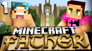 Minecraft: Father Adventure Map w/ Joey! Ep. 1 - BROTHERS!