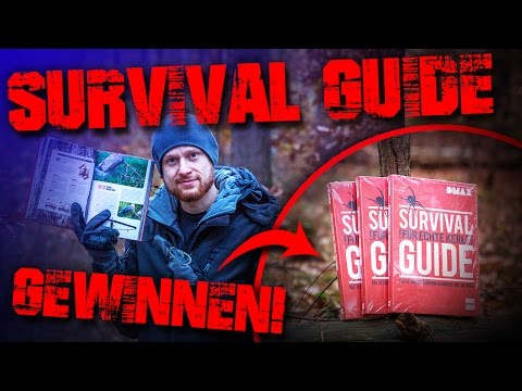 SURVIVAL GUIDE DMAX Buch Joe Vogel - Feuer Messer - deutsch german Deutschland