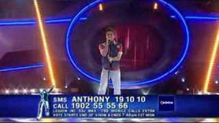 Anthony Callea-I Want To Know What Love Is