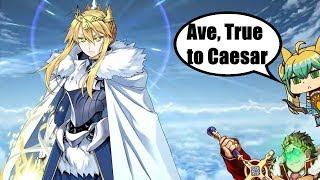 Gaius Julius Caesar  - (Fate/Grand Order) - FGO NA: Goddess of Rhongo vs Caesar's Legion
