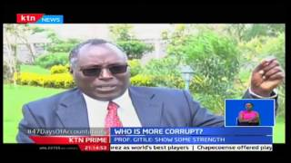 KTN Prime: Jubilee and CORD leaders enter into a misguided exchange of words on who's more corrupt