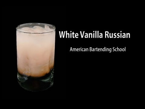 Vanilla White Russian Cocktail Drink Recipe