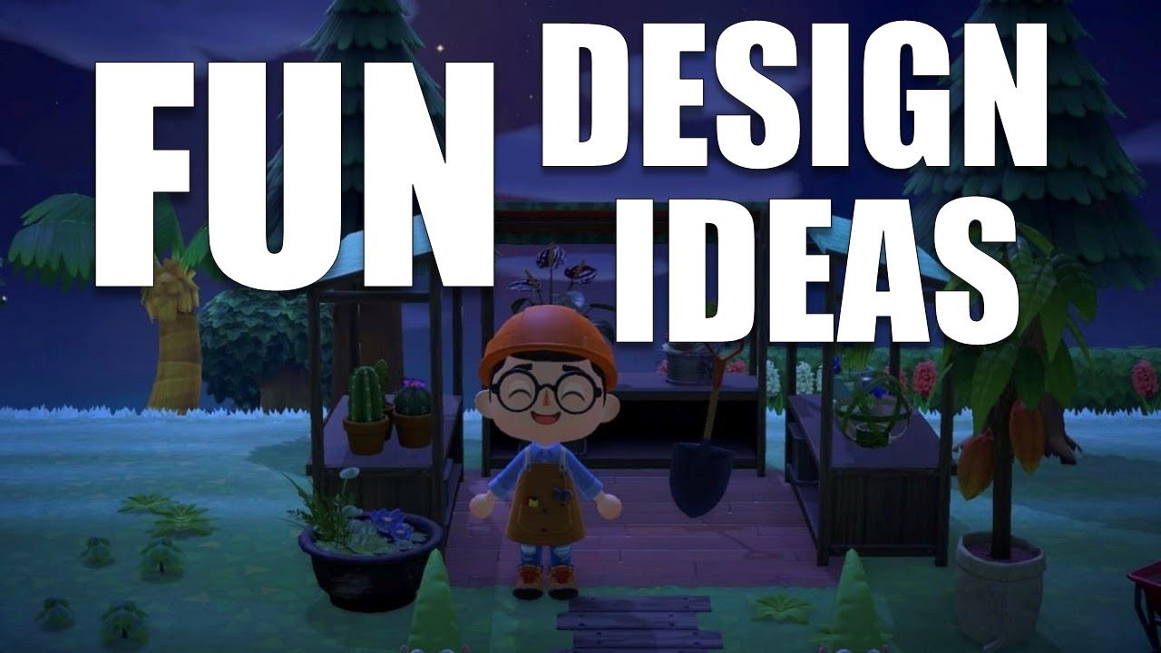 FUN Design Ideas For YOUR Island   Animal Crossing New Horizons