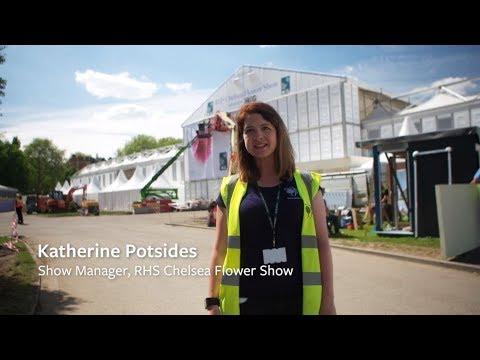 RHS Chelsea Flower Show | Behind the scenes 2018