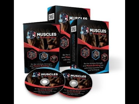 Muscles and Strength Building | Muscles and Strength Building with PLR