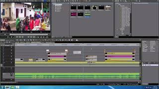 EDIUS VIDEO MIXING IN FEW MINUTE , LIVE WEDDING VIDEO MIXING IN HINDI