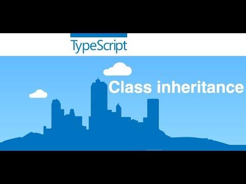 17-  TypeScript||  Class inheritance and override