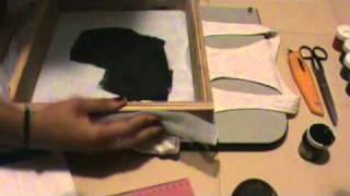 Serigrafía/Estampado de Camisetas-Franelas en casa.