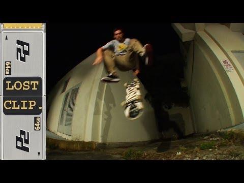 Danny Fuenzalida Lost & Found Skateboarding Clip #35 Varial Heelflip Miami