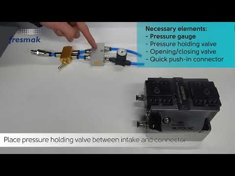 BLOCK-SC Self-centering static chucks with pressure holding valve
