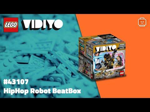 Vidéo LEGO VIDIYO 43107 : HipHop Robot BeatBox