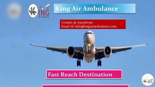 Facts About the King air ambulance Services from Kolkata to Delhi