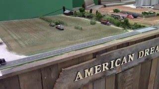 2016 National Farm Machinery Show: Amazing 40ft Long Farm Display