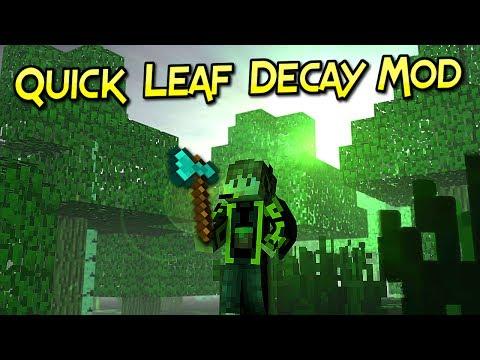 Quick Leaf Decay Mod  Las Hojas Ya No Serán Un Problema    Minecraft 1.12 – 1.7.10   Review Español