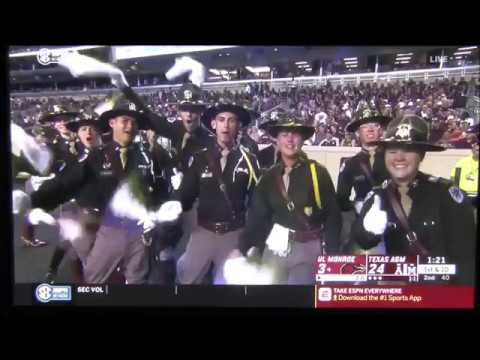Company F-2 during Texas A&M vs. ULM