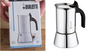 Bialetti Venus Induction 4 Cups Unbox and Demo