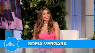 Sofía Vergara Constantly Gets Caught by Paparazzi While Eating