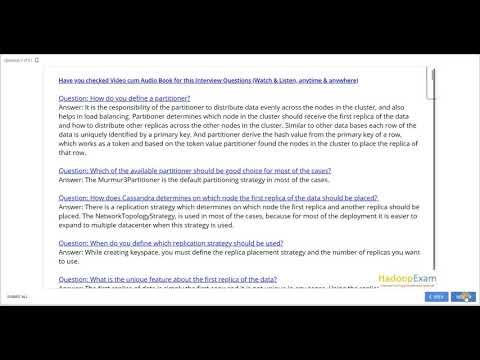 Apache Cassandra Interview Questions - YouTube