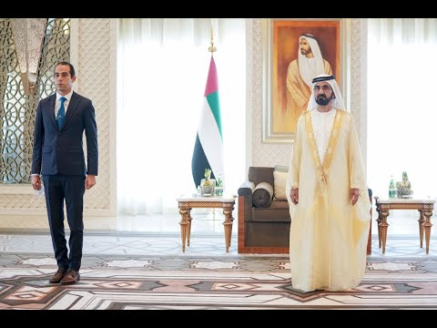 His Highness Sheikh Mohammed bin Rashid Al Maktoum - Mohammed bin Rashid receives credentials of new ambassadors to the UAE