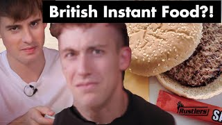 Does Britain Have the WORST Convenience Store Food in the World???