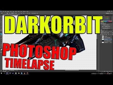 DARKORBIT Photoshop Timelapse!