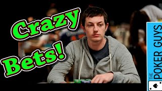Poker Breakdown: How Should Phil Laak React to Tom Dwan making these Crazy Bets?
