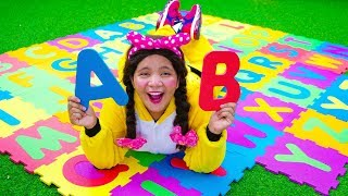 ABC Song Nursery Rhymes with Puzzle Toy for Kids