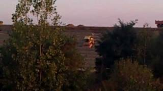 preview picture of video 'Wypadek przy pracy autostrada A1 Piekary Śląskie'