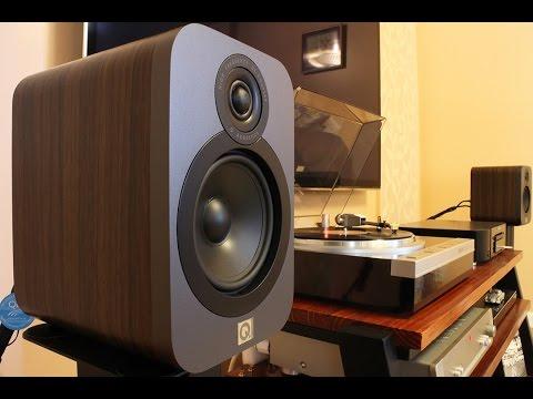 Q Acoustics Q3020 Bookshelf Speakers Sound Demo (Pop)