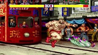 street fighter ii deluxe 2 jogando com omega rugal gameplay