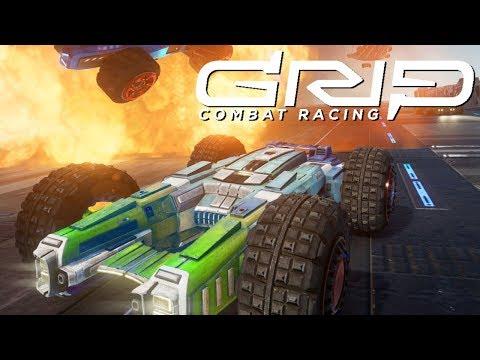 Gameplay de GRIP: Combat Racing