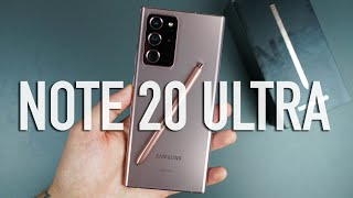 Samsung Galaxy Note20 ULTRA Unboxing & Tour!