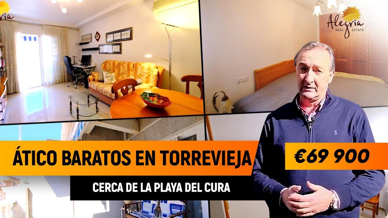 Atico baratos en Torrevieja.  Viviendas en España.  Pisos en España
