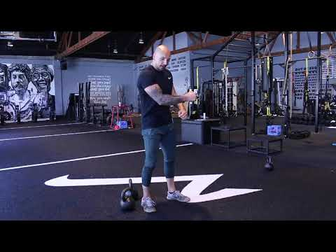 How To Double Kettlebell Clean - Short and Effective Tutorial