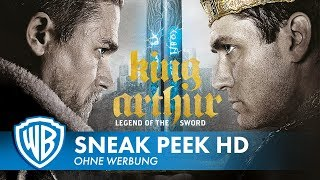 KING ARTHUR LEGEND OF THE SWORD  10 Minuten Sneak Peek Deutsch HD German 2017
