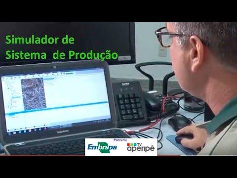Embrapa utiliza sistema que simula produção agrícola