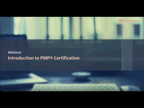 Webinar on Project Management Professional(PMP)® certification ...