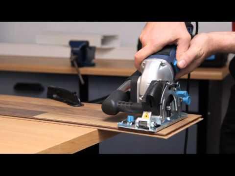 Einhell BT-CS 860 Kit Mini-Handkreissäge