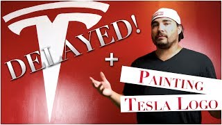Painting Tesla Logo + Tesla Model 3 Delivery Delayed. Bonus: Water Ski Fails this Week.