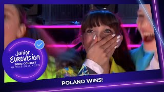 Viki Gabor From Poland Wins The Junior Eurovision Song Contest 2019! 🇵🇱