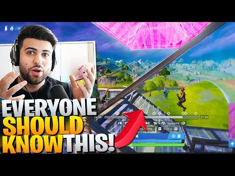 EVERYONE Should Learn This CLASSIC Trap Trick! (Fortnite Battle Royale)