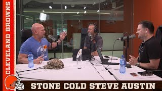 Stone Cold Steve Austin talks Baker Mayfield | Cleveland Browns Daily